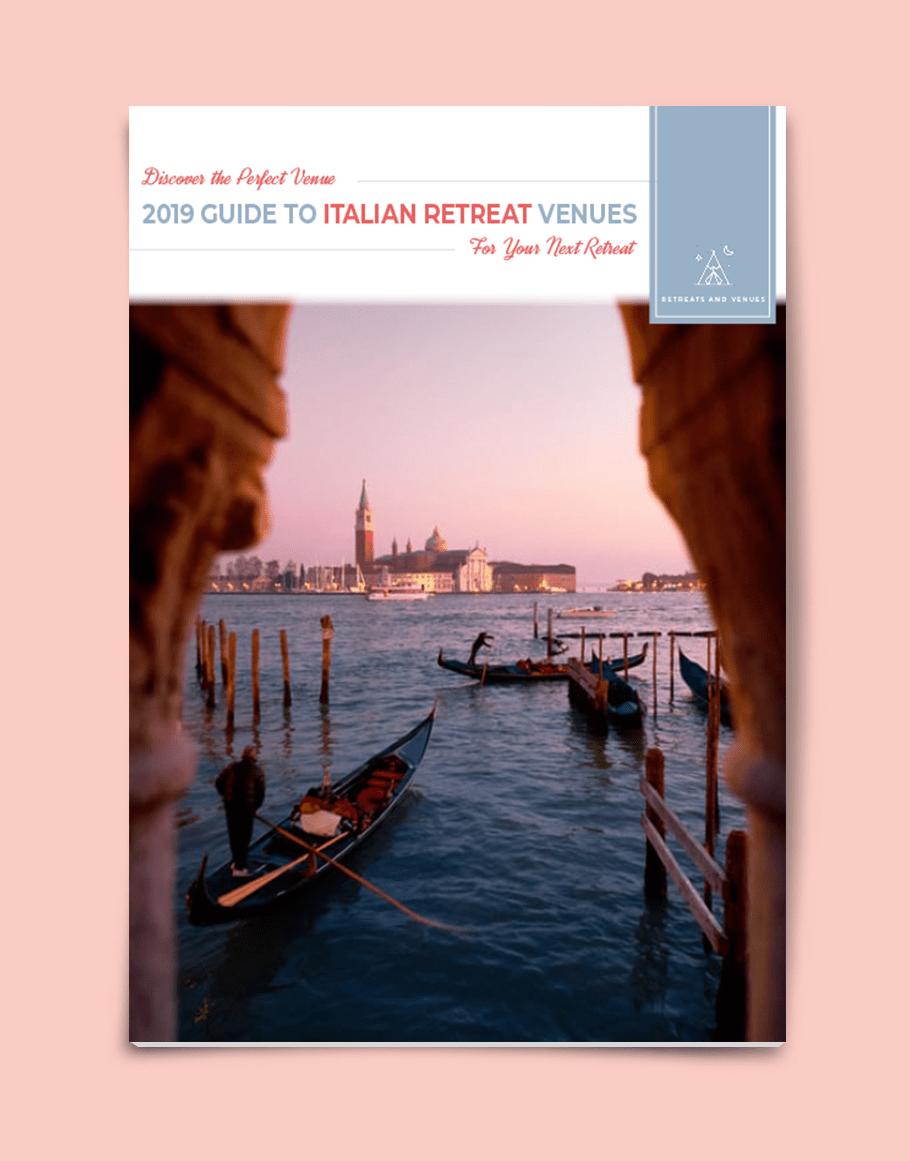 2019 guide to Italian Retreat Venues